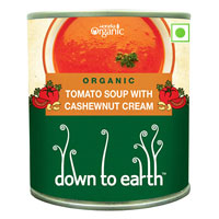 Organic Tomato, Cashew Nut Cream Soup