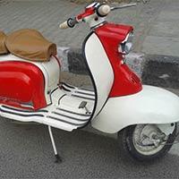 Restored Lambretta Scooters