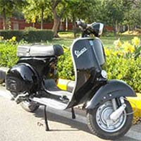 Restored Vespa Scooters