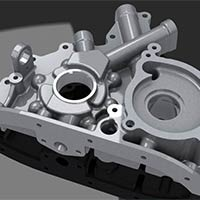 Two Wheeler Engine Cover