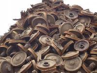 Used Rail Scrap Wheels