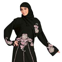 Embroidery Desings Lycra Burqa