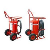 Dry Powder Trolley Fire Extinguisher