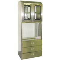 Stainless Steel Surgical Pass Through Cabinet