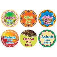 Four Color Sticker Printing