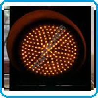 Amber Traffic Signal