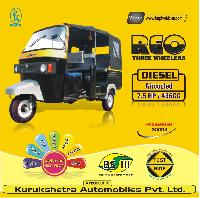 Front Mounted Diesel Engine Three Wheeler