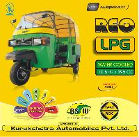 Front Mounted Lpg Engine Three Wheeler