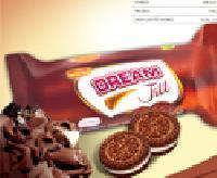 Choco Vanilla Biscuit