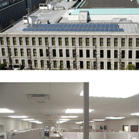 Solar Led Office Lighting Systems