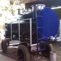Tractor Type Sewage Tanker