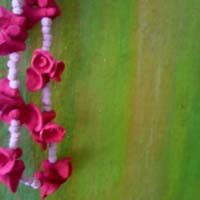 Artificial Stone Flower Garland