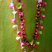 Clay flower Garland's
