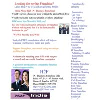 Franchise Consultancy Services