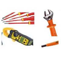 Insulated Tool Kit with Clamp on Meter