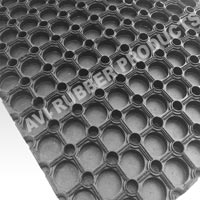 Honey Comb Rubber Mats