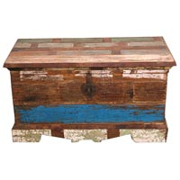 Wooden trunk manufacturers suppliers exporters in india for Reclaimed wood manufacturers