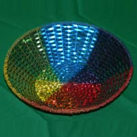 Coloured Aluminium Basket