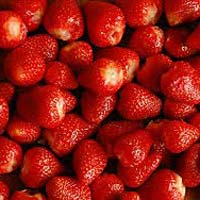 Sulphited strawberry
