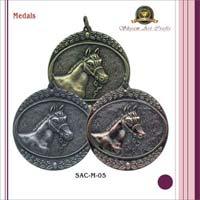 Medal Badge & Cufflinks