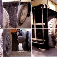 Spray Suppression System, Mud Flaps