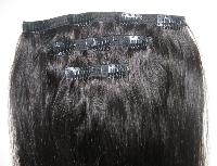 Clip On Human Hair Extensions - Manufacturer, Exporters and Wholesale Suppliers,  Delhi - A. K. Enterprises