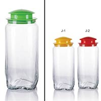 1 Piece Glass Jar