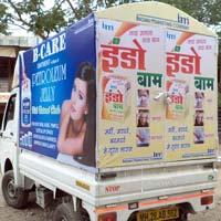 Mobile Van Advertising Services