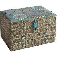 fabric jewelry boxes