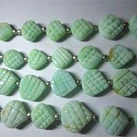 Opal Carved Heart Shape Beads