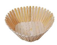 Bamboo Made Heart Shaped Basket
