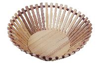 Bamboo Made Round Shaped Basket