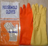 Latex Houseshold Gloves