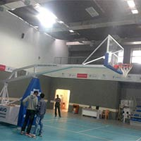 Basketball Goal Stand - Manufacturer, Exporters and Wholesale Suppliers,  Gujarat - Pramukh Enginee