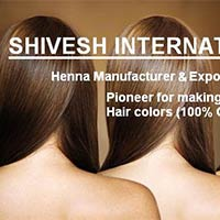 Ammonia Free Herbal Hair Colors - Manufacturer, Exporters and Wholesale Suppliers,  Delhi - Shivesh International