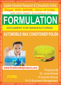Auto Wax Conditioner Polish