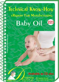 Baby Oil  Manufacturing Technology  Tnhr223)