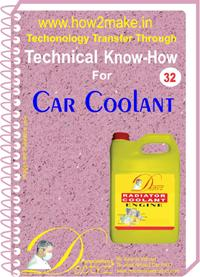 Car Radiator Coolant Formulation (ereport)