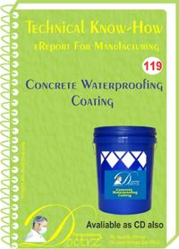 Concrete waterproofing coating formulation knowhow eReport 119