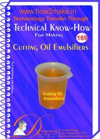 Cutting Oil Emulsifier Manufacturing Formulation Ereport