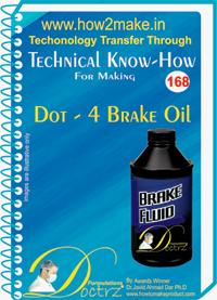 Dot-4 Brake Oil Manufacturing Formulation Book