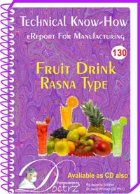 Rasna Type Fruit Drink