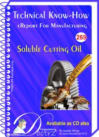 Soluble Cutting Oil  Manufacturing Technology (tnhr269)