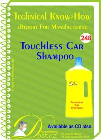 Touchless Car Shampoo  Manufacturing Technology(tnhr248)