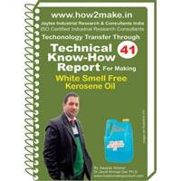 White Smell Free Kerosene Oil