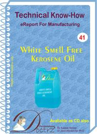 White Smell Free Kerosene Oil Manufacturing