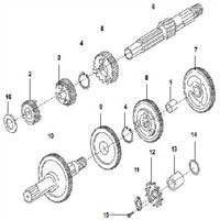 Two Wheeler Transmission Parts