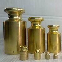 Brass Plated Weight Set