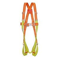 Yellow & Orange Full Body Harness Safety Belt