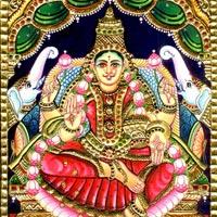 Tanjore Paintings of Gajalakshmi